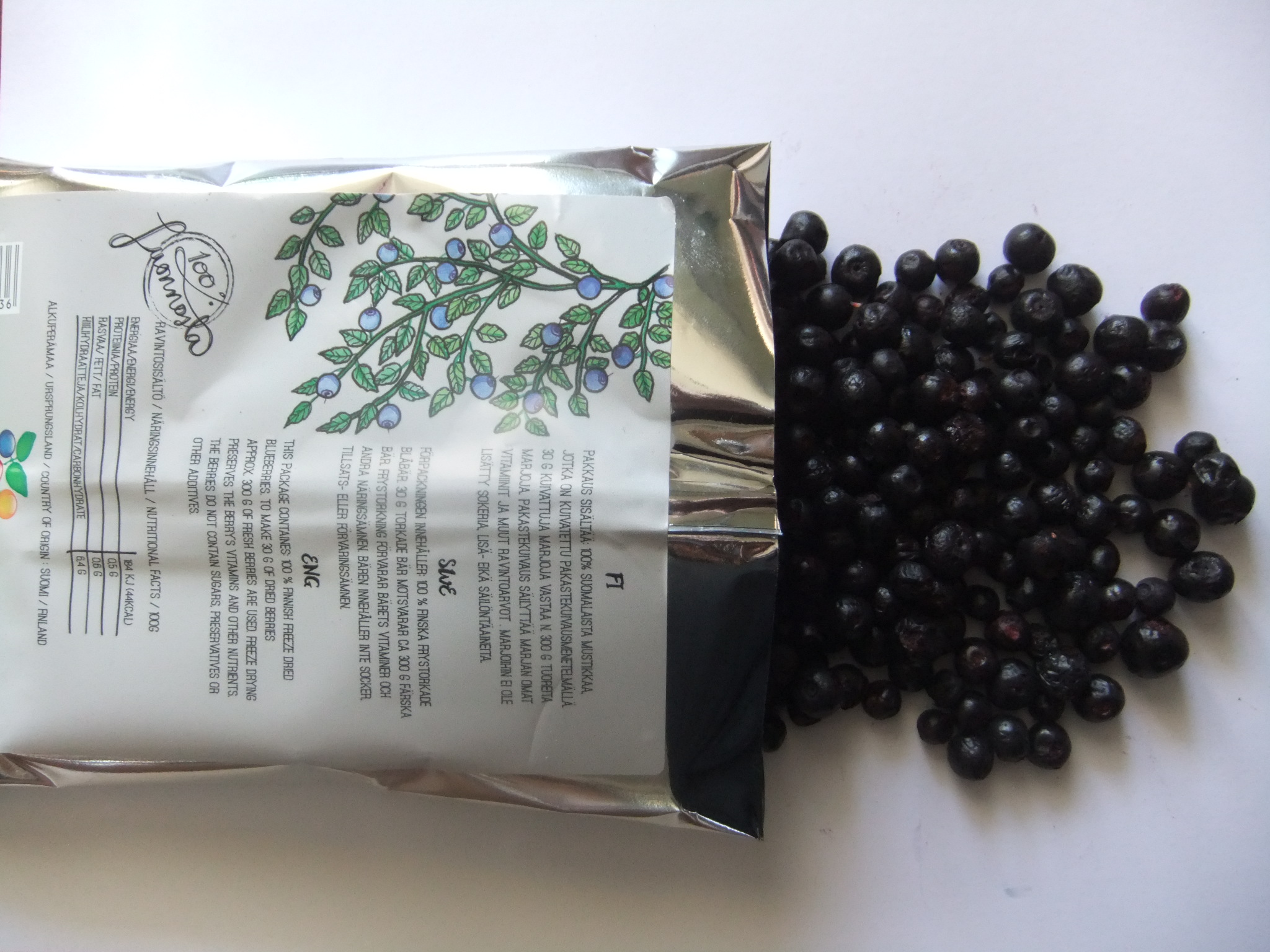 Natural dried blueberries - BBM GROUP